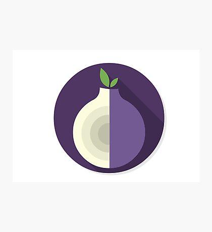 Tor Flat Logo Photographic Print