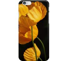 Yellow Tupils iPhone Case/Skin