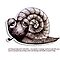 Little Profiles Chilled Snail by Karin  Taylor
