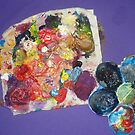 My Painting Palette by Jazmine Saunders