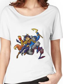 Sly Cooper and Camelita Fox Women's Relaxed Fit T-Shirt