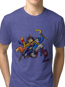Sly Cooper and Camelita Fox Tri-blend T-Shirt