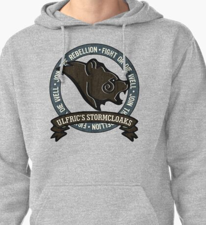 Join the Stormcloak Rebellion Pullover Hoodie