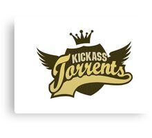 Kickass Torrent Canvas Print
