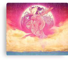 Space Walrus On Moon Patrol 2015 Canvas Print