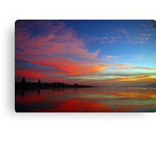 Perception is the Mirror of Dusk Canvas Print