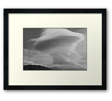 The Aliens Are Coming!!!! Framed Print