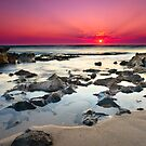 Beanion Beach Sunset by sixfootfour