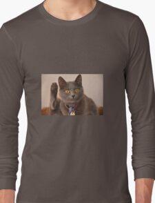 BIG YELLOW EYES Long Sleeve T-Shirt