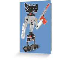 ControlBot4000 Greeting Card