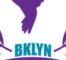 BROOKLYN GIRL KNUCKLE SQUAD Sticker