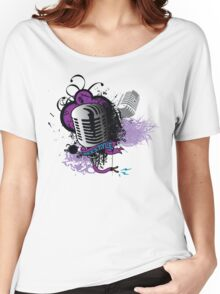 FREESTYLE MIC Women's Relaxed Fit T-Shirt