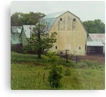 Not All Barns are Red Metal Print