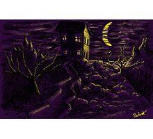 Spooky Night Photographic Print