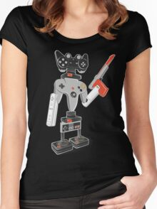 ControlBot4000 Women's Fitted Scoop T-Shirt