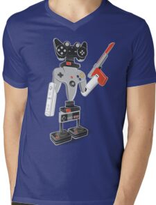 ControlBot4000 Mens V-Neck T-Shirt