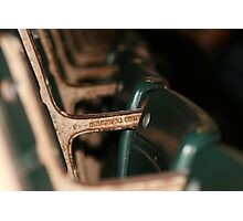 Shea Stadium Seats Photographic Print