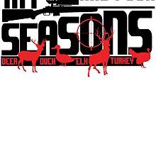 my year has four seasons by teeshoppy