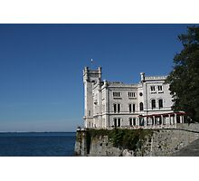 The Castle of Miramare - Trieste, Italy Photographic Print