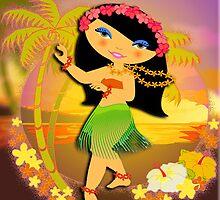 TropoGirl - Tropical Dancer by Kartoon