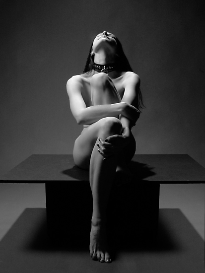 """My Collar"" a Nude by Chris Maher #7457 by Chris Maher"