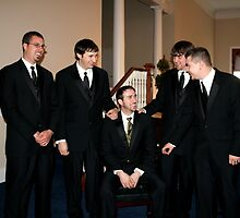Groom & Groomsmen by smalshbarrick