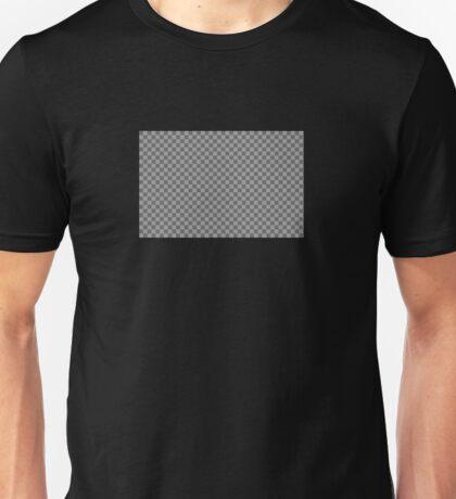 Invisible. Transparent photoshop design! Unisex T-Shirt