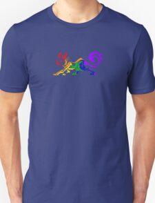 Rainbow Tribal Cat Unisex T-Shirt