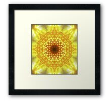 Blazing Sun Framed Print