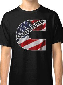 Cummins US Flag  Classic T-Shirt