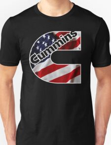 Cummins US Flag  T-Shirt
