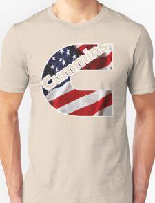 Cummins US Flag  Unisex T-Shirt