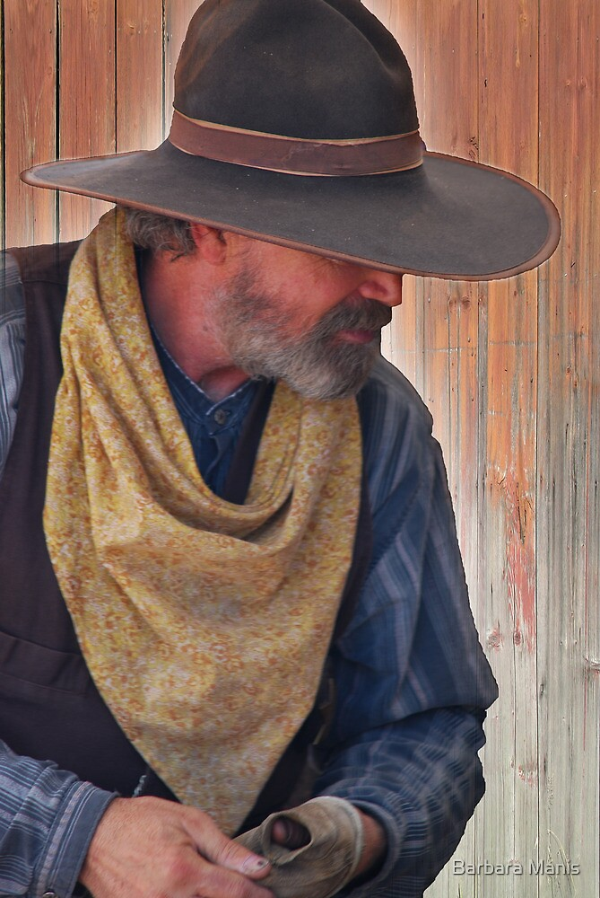 A Real Cowboy by Barbara Manis