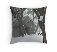 The Cozy Cottage Throw Pillow