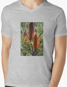 BOTTLE BRUSH Mens V-Neck T-Shirt