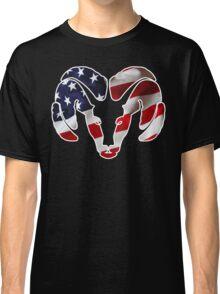Dodge Ram US Flag Classic T-Shirt