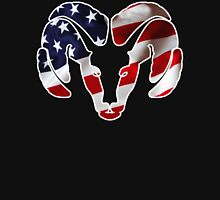 Dodge Ram US Flag Unisex T-Shirt