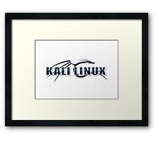 Kali Linux Logo Framed Print