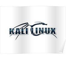 Kali Linux Logo Poster