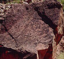 Petroglyph Ndala Gorge 199405110004 by Fred Mitchell