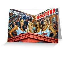 HOOTERS Greeting Card
