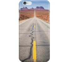 Open Road in the Monument Valley iPhone Case/Skin