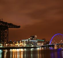 Squinty Bridge Glasgow Scotland by Colstie