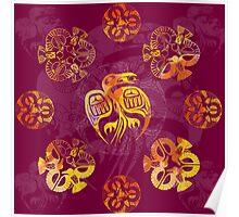 Crow Mandala 2 Poster