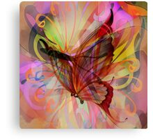 Butterfly Emergence Canvas Print