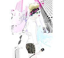 Shinjuku Karaoke Photographic Print