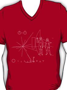 Pioneer 11 Plaque T-Shirt