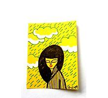 Tiny Diary: Silver Lining Photographic Print