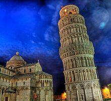 Leaning Tower of Pisa - at Night by NeilAlderney