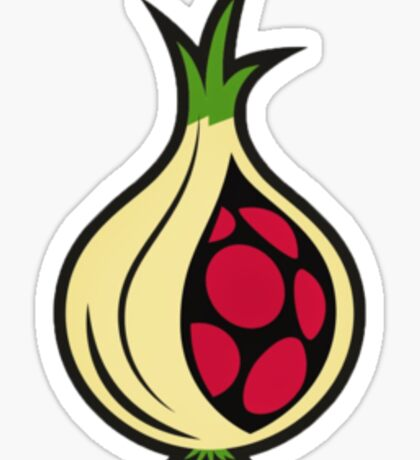 Onion Pi  Sticker